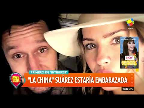 Marcela Tauro Confirma Embarazo De Eugenia 'la China' Suarez