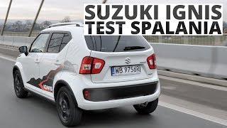 Suzuki Ignis 1.2 DualJet SHVS 90 KM (MT) - pomiar zużycia paliwa