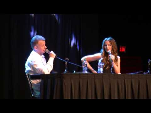 Kate Beckinsale Q&A panel at Comicpalooza 2016!