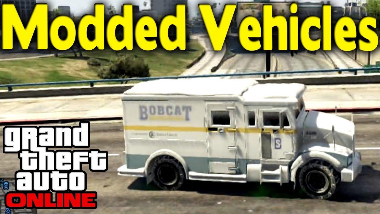 "GTA Online - ""ICE MONEY"" TRUCK & ""BULLETPROOF SWAT"" CARS ..."