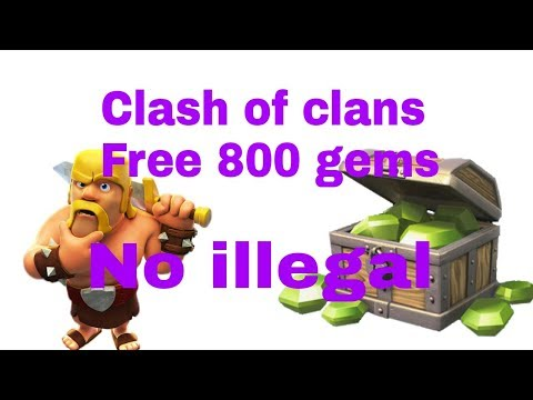 Free Clash Of Clans Gems No Illegal