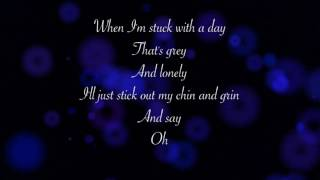"Tomorrow [Karaoke Instrumental Version] [From the 2014 ""Annie"" with Lyrics]"
