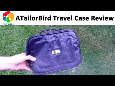 ATailorBird Digital Cable Travel Case Organiser Review