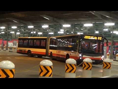 Yishun Intratown Service 812 - Last Day under SMRT