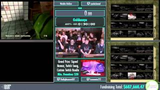 Awesome Games Done Quick 2015 - Part 160 - Goldeneye by Various Runners