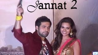 Jannat 2 cast at the music launch of the film