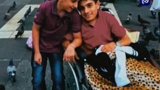 عمر مهيار تغلب على المصاعب والإعاقة بالفن وحب الحياة - (8-5-2017)