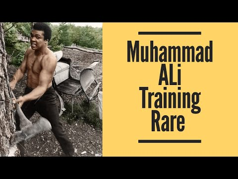 Muhammad Ali Training Rare
