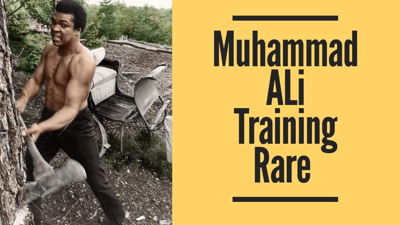 Muhammad Ali Training Rare