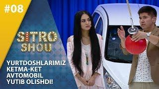 Sitro Shou 8-son  Yurtdoshlarimiz  ketma-ket  avtomobil  yutib olishdi!