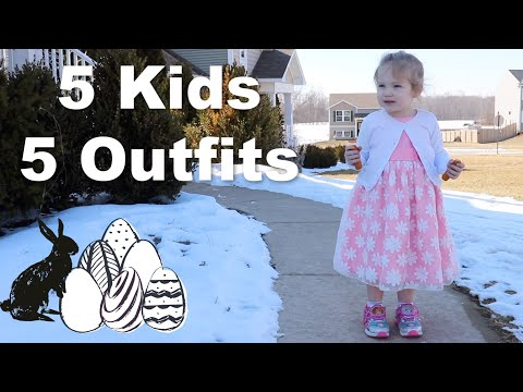 What My 5 Kids Are Wearing for Easter 2019- Once Upon a Child Haul