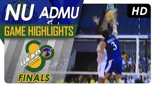 UAAP 80 MV Finals Game One: NU vs. ADMU | Game Highlights | April 28, 2018