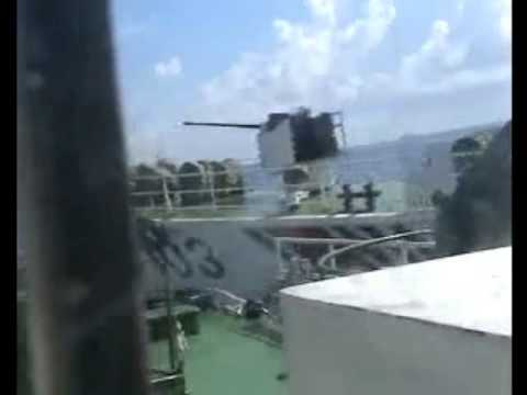 China coast guard attacks Vietnam Coast Guard