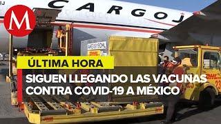 Llega a México segundo lote de vacunas anticovid de Pfizer