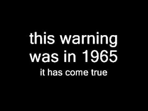 Man predicting the future in 1965 100% true