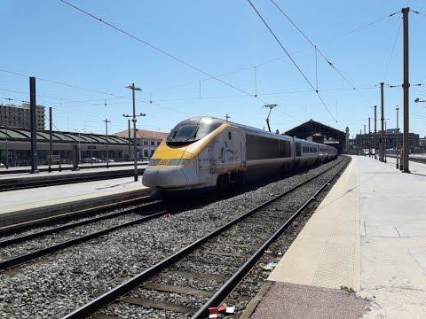 FR#114 - Trafic intense en gare de Marseille-St-Charles: TGV ES IC THELLO TER - 08/08/16