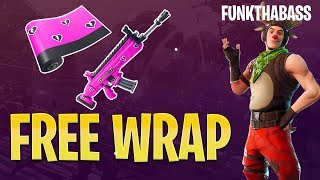 FREE WRAP CUDDLE HEARTS WART | Fortnite v7.40 Update