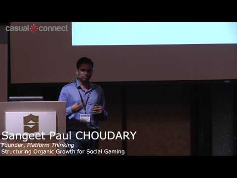 Structuring Organic Growth for Social Gaming | Sangeet Paul CHOUDARY