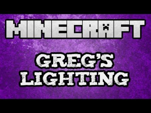 ★ Minecraft Mod Spotlights - Gregs Lighting Tutorial (Floodlights Mod)