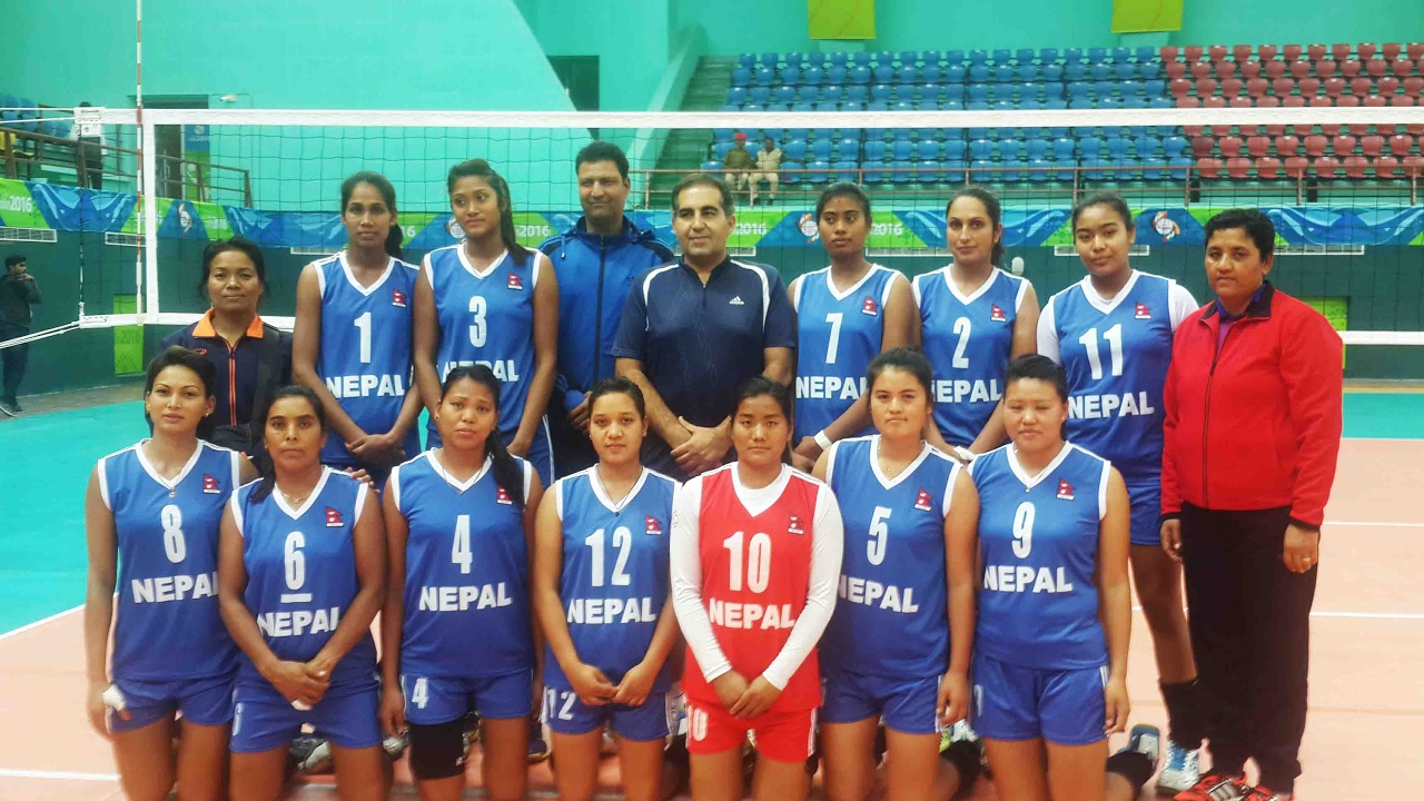 Nepal Vs India 12th Sag Games Women S Volleyball Youtube