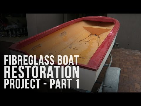 I Bought a Boat! Fibreglass Boat Restoration Project - Part 1