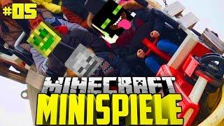 ROLLERCOASTER TIMES?! - Minecraft Minispiele #05 [Deutsch/HD]