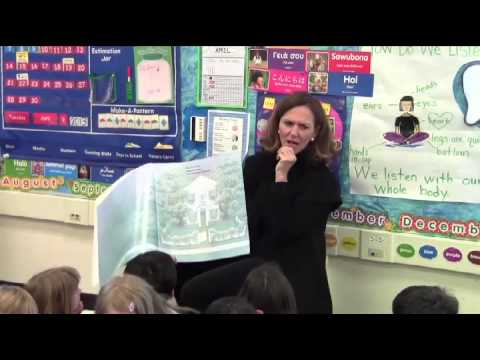 Reading a Book to Children (English)