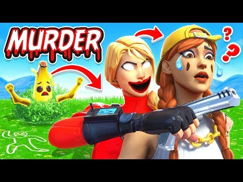ESCAPE The BUSH MURDER MYSTERY *NEW* Game Mode In Fortnite Battle Royale