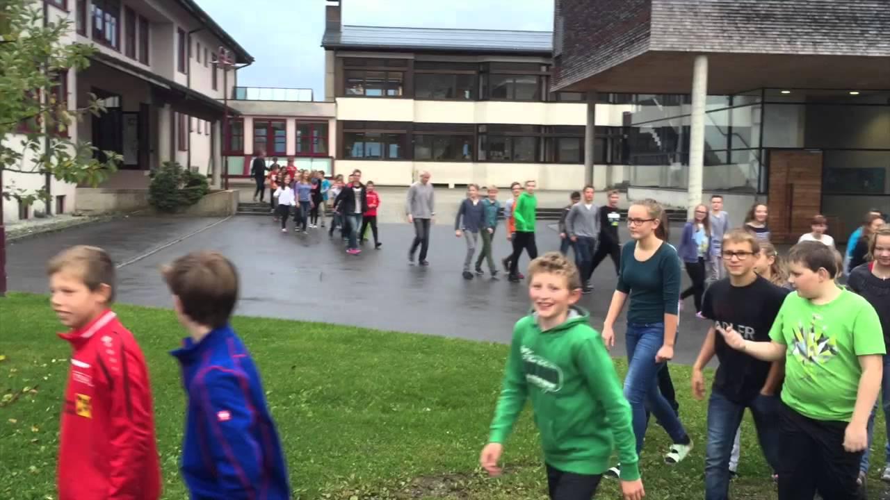 Feuerwehr Hittisau Übung - Schule Hittisau - YouTube