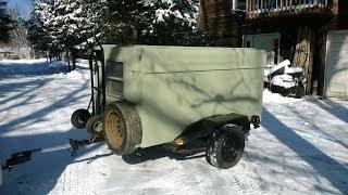 $80 Enclosed Trailer - Backyard Mechanic DIY