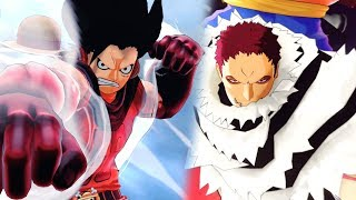 One Piece World Seeker - Snake Man Luffy vs Katakuri Boss Battle Gameplay!