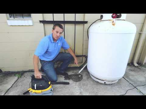 how to clean your ac drain line