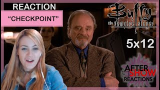 "Buffy The Vampire Slayer 5x12 - ""Checkpoint"" Reaction"