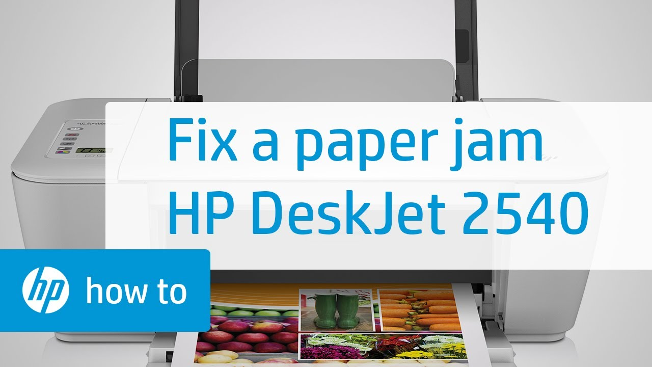 Fixing A Carriage Jam Hp Deskjet 2540 All In One Printer
