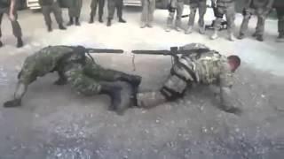 Русский солдат против Американского / The Russian soldier against American