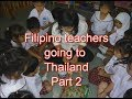How to become a Filipino English teacher in Thailand - departure