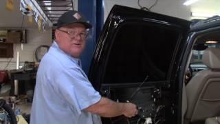 How to repair door handle on a 2007-2013 Chevrolet Suburban, Silverado, Tahoe, Yukon, Escalade #102