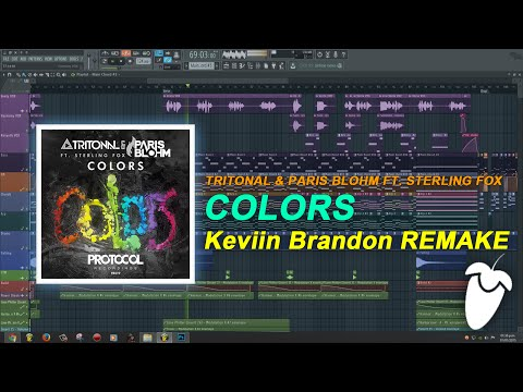 Tritonal & Paris Blohm Ft. Sterling Fox - Colors (Original Mix) (Full FL Studio Remake + FLP)
