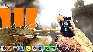 BACKLOT ZOMBIES (Modern Warfare remake in Black Ops 3) Call of Duty BO3 Mod Gameplay