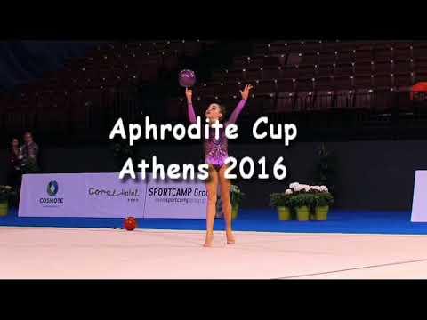 Despoina Konstantinou (GRE) - Junior 2001 24 - Aphrodite Cup Athens 2016