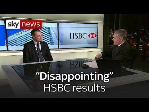 HSBC profits fall short of expectations