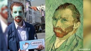 Gambar cover Eindhovenaar tweede in look-a-like-wedstrijd Van Gogh