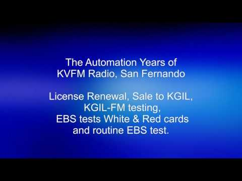 KVFM Radio San Fernando sale to KGIL and EBS tests