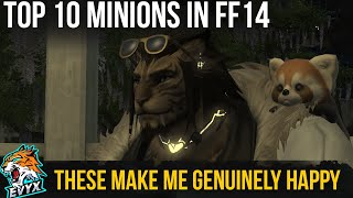 THE 10 BEST MINIONS IN FF14