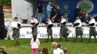 2010 Trenton Irish Music Festival Day 3 - Trenton AOH Pipe Band Marine
