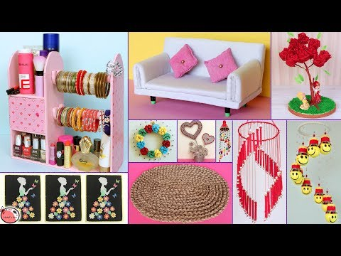 10 Best Out of Waste Idea !!! DIY ROOM DECOR & Organization Idea - DIY Projects