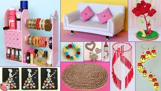 10 Best Out of Waste Idea !!! DIY ROOM DECOR & Organization Idea - DIY Projects