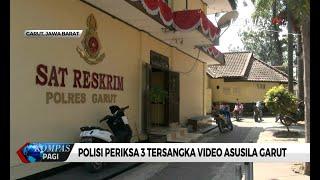 Polisi Periksa 3 Tersangka Pemeran Video Asusila Garut
