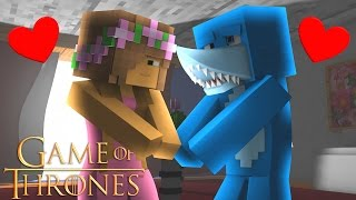 Minecraft GAME OF THRONES - LITTLE KELLY SAVES SHARKY!!