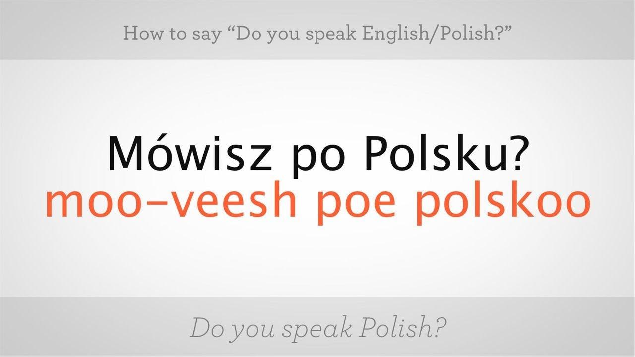 How to say i love u in polish